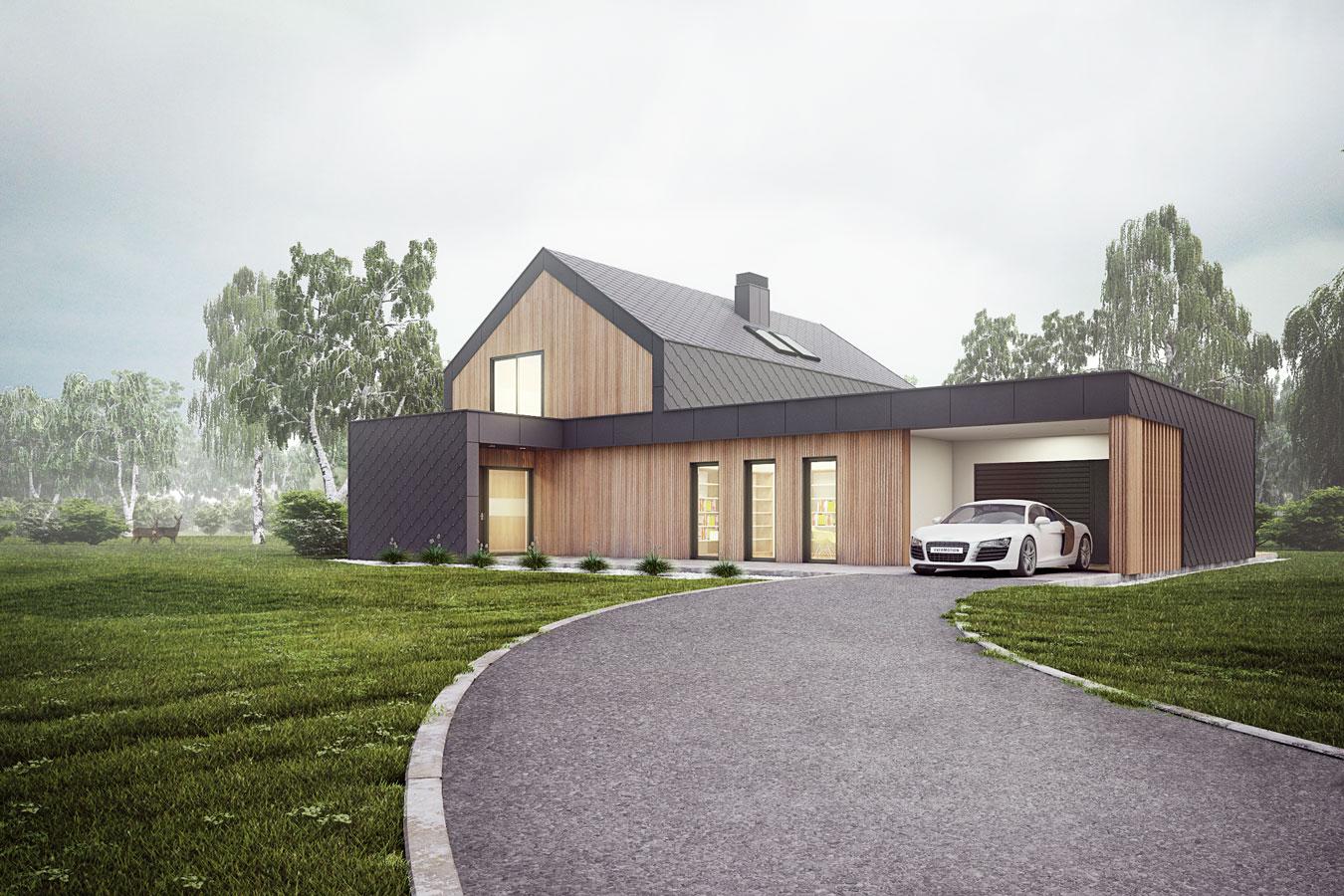 projektiranje hiše arhitekt Kranj PGD