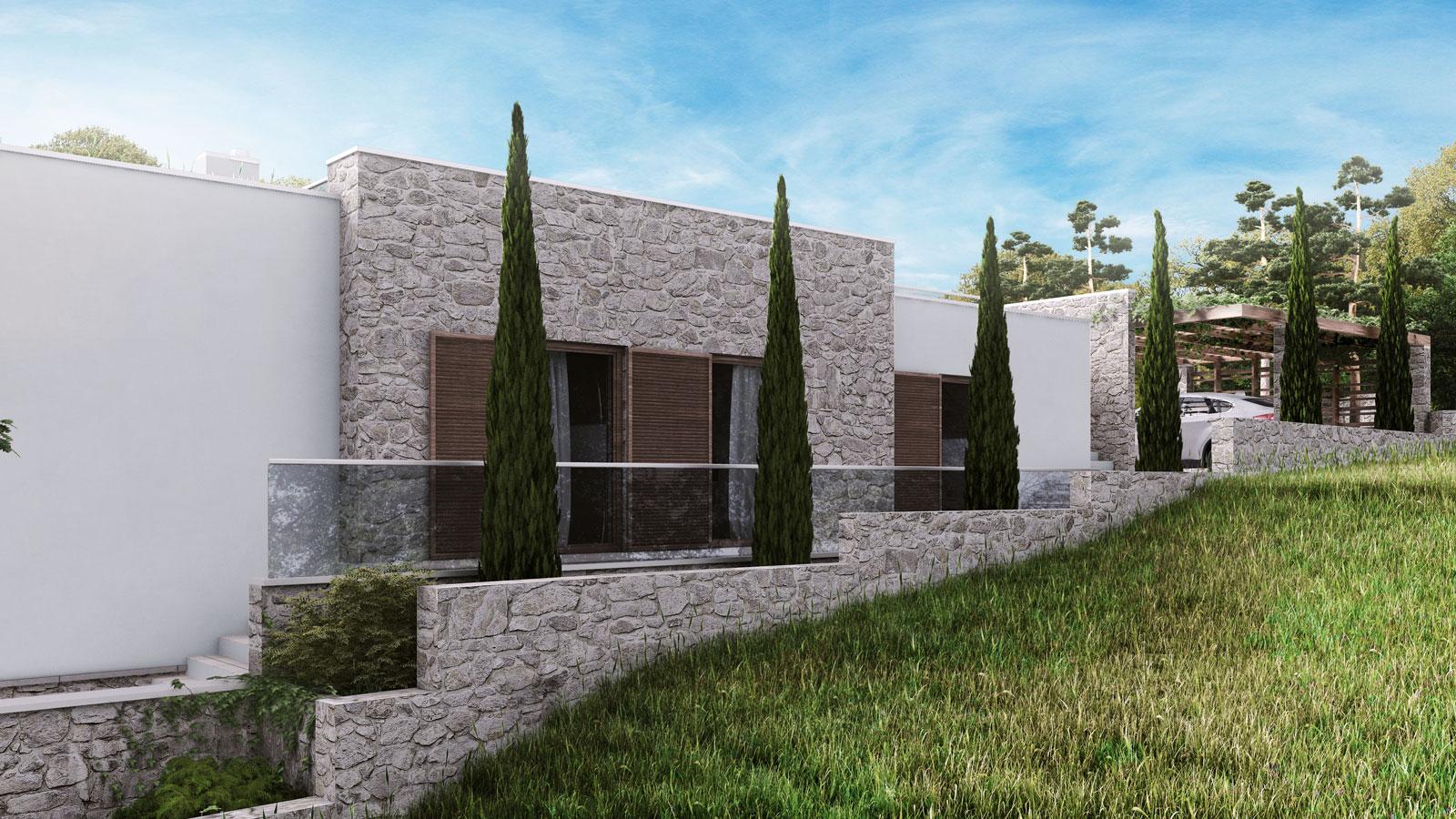 načrtovanje enodružinske hiše Kamnik