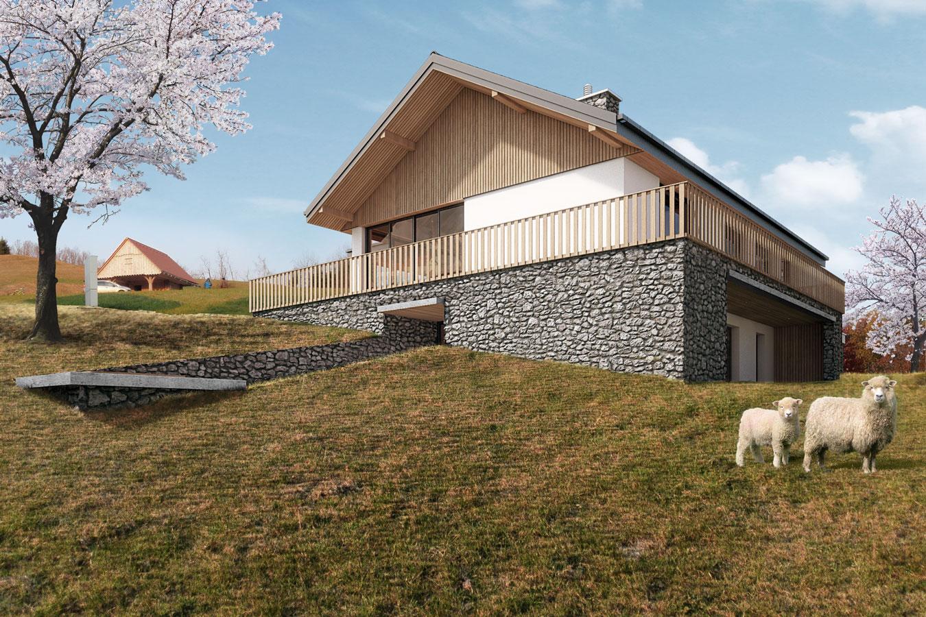 Arhitektura na slovenskem podeželju