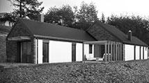 Projekt nove rustikalne hiše