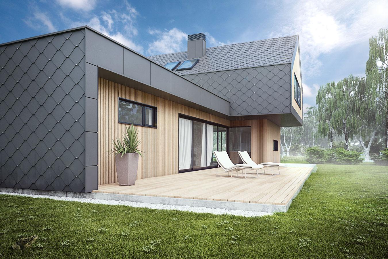novogradnja hiša celje moderno