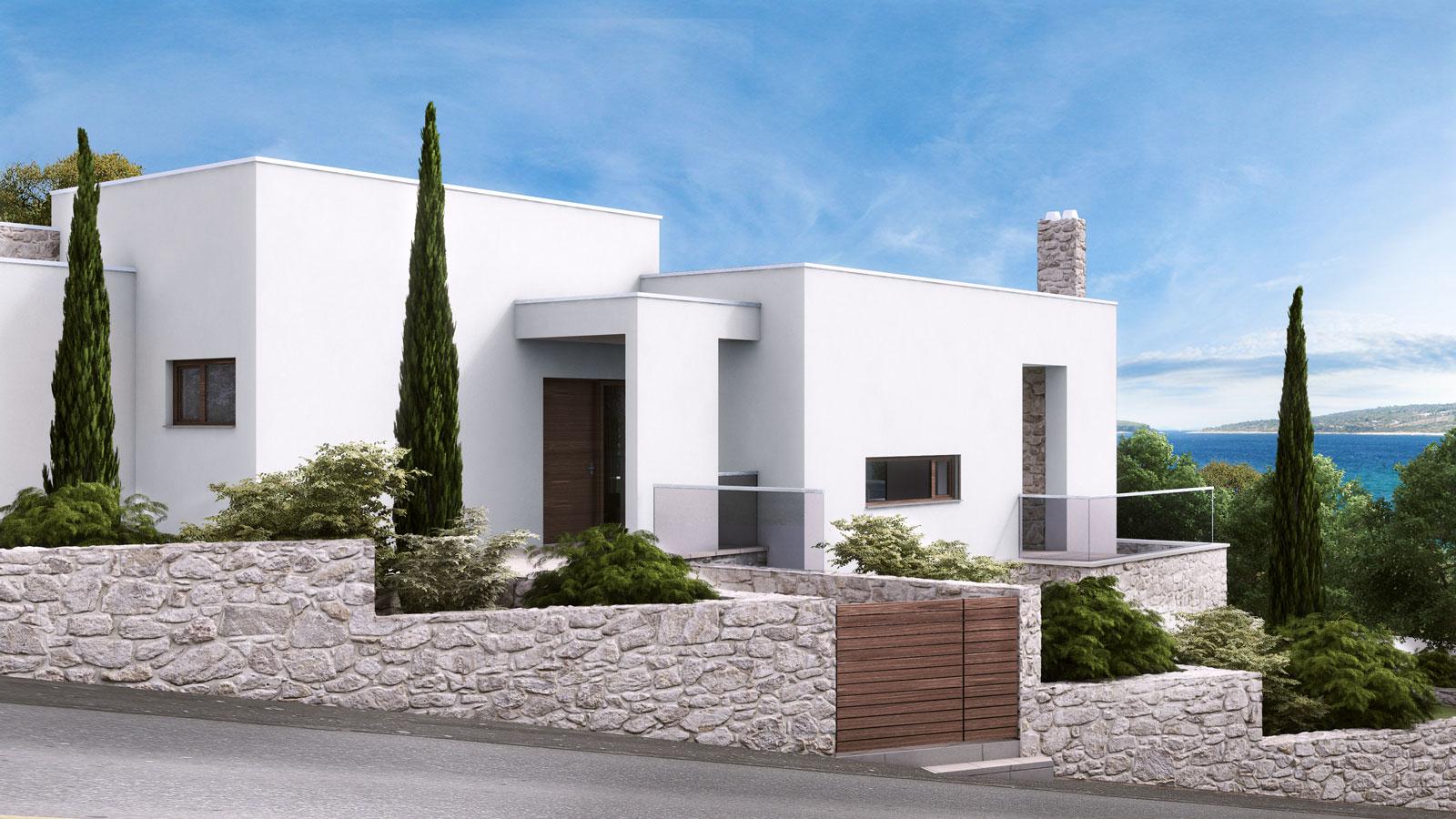 arhitekt na hrvaškem hiša projektiranje