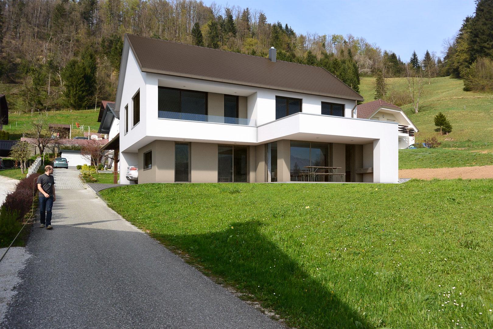 Stanovanjska hiša, Hrojul - Ljubljana